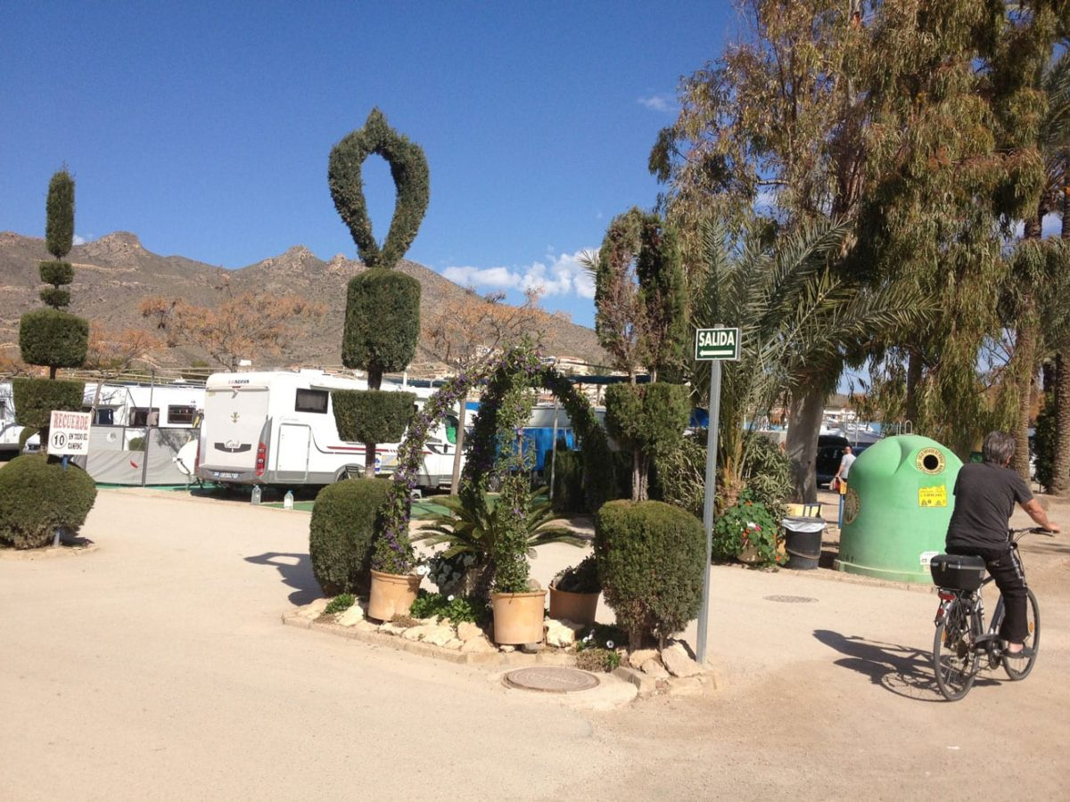 Campsite Mazarrón (Click for larger image)