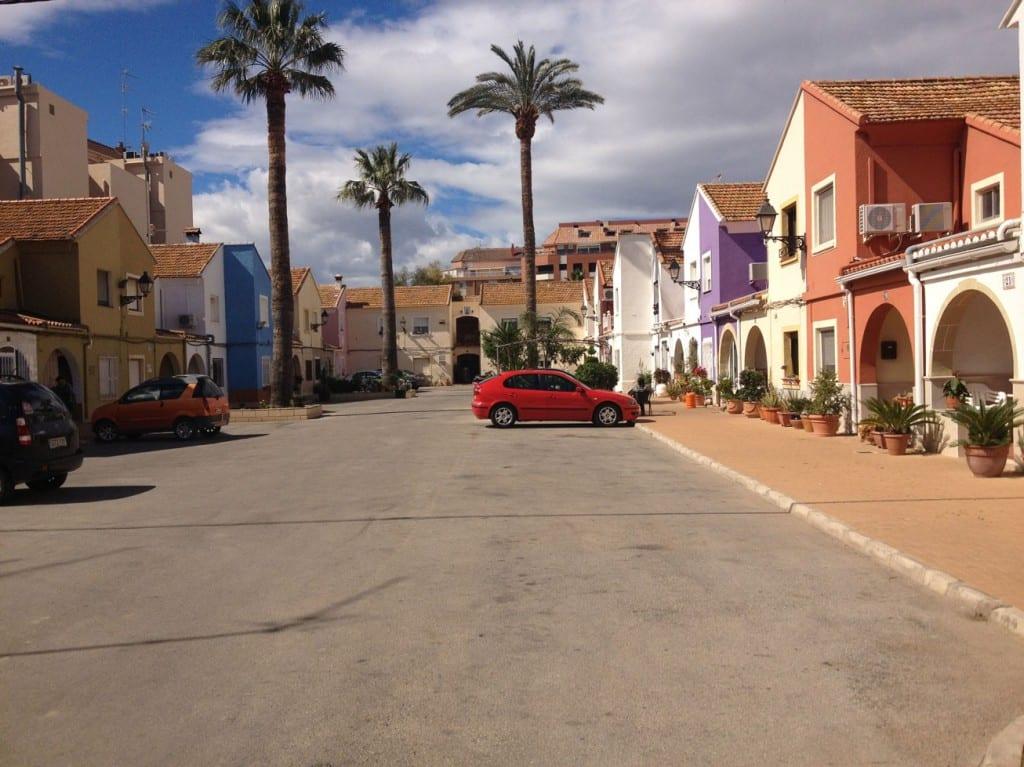 Attractive residential area in Denia