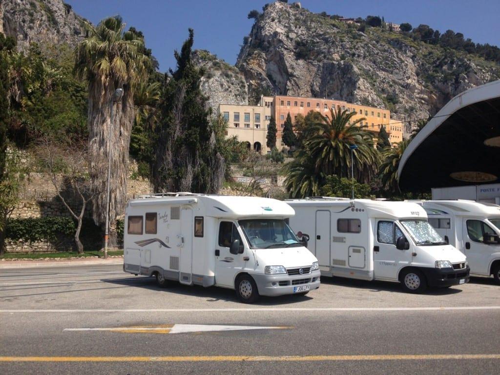 French Italian Border