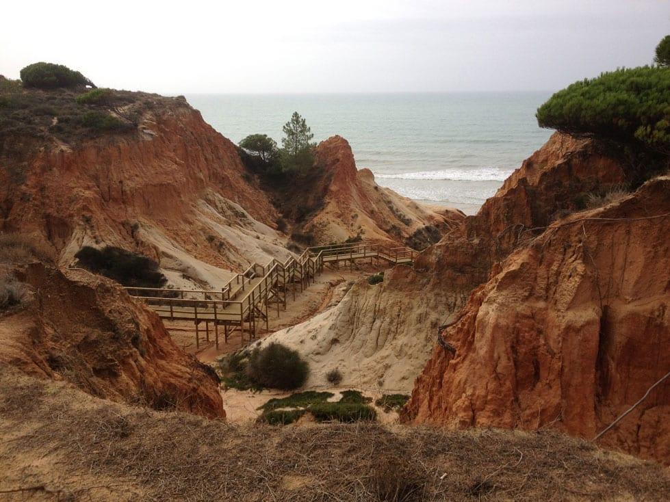 Falesia beach Albuferia