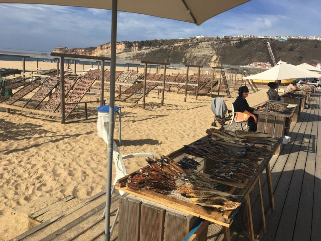 Drying the fish, Nazare