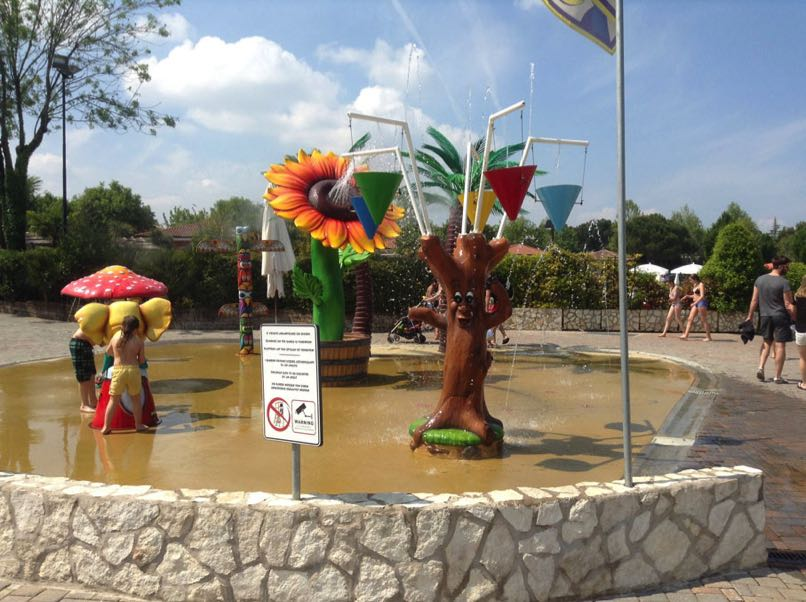 Children's Splash Pool Bella Italia