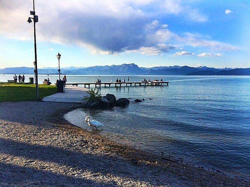 Bella Italia campsite - lake