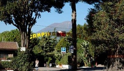 Camping Zesus, Pompei