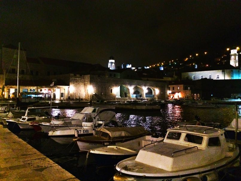 Dubrovnik at Night