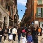 Verona shopping street