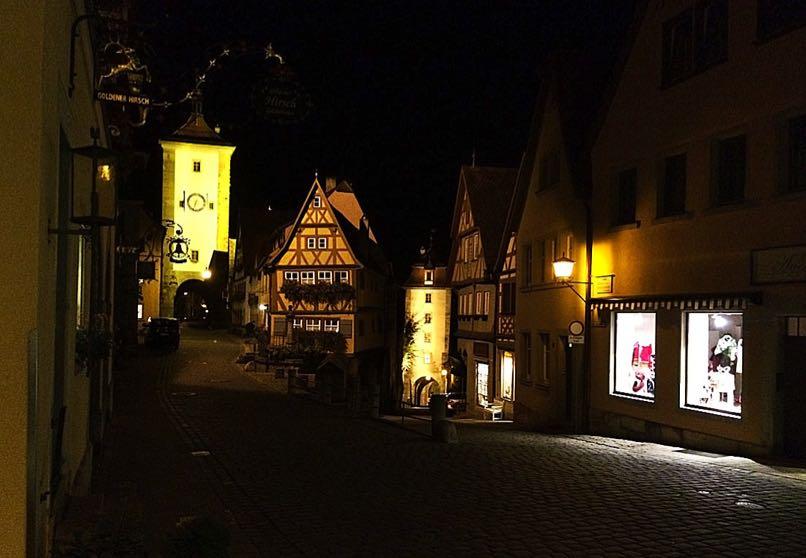 Rothenburg at Night
