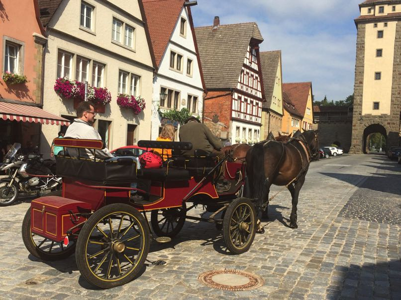 Rothenburg Tourist Horse & Cart