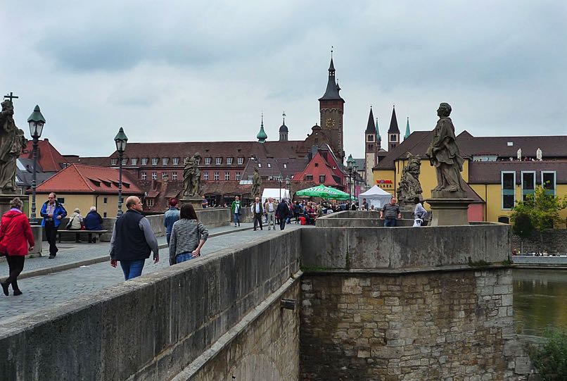 Old Main Bridge, Wurzburg