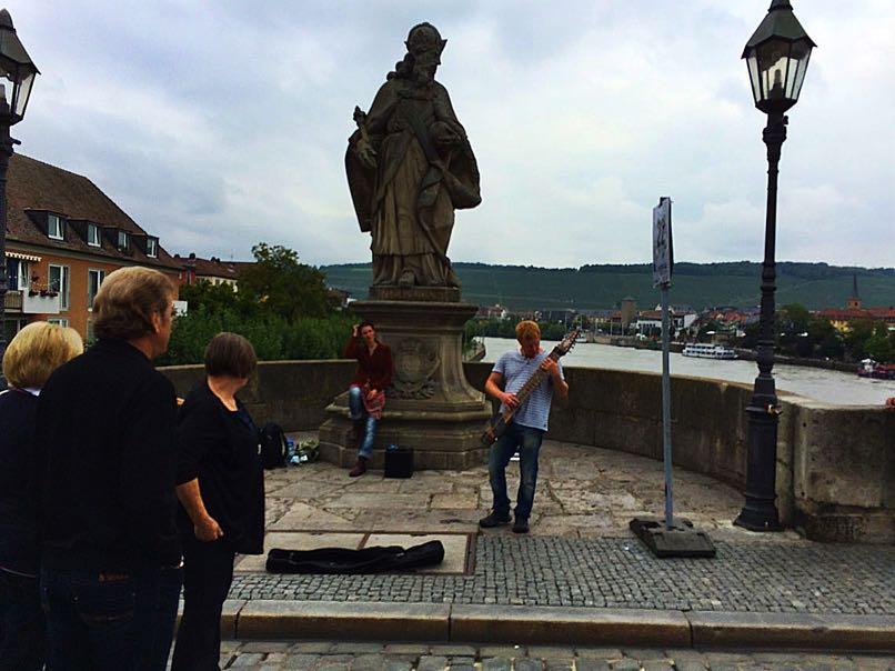 Old Main Bridge Wurzburg
