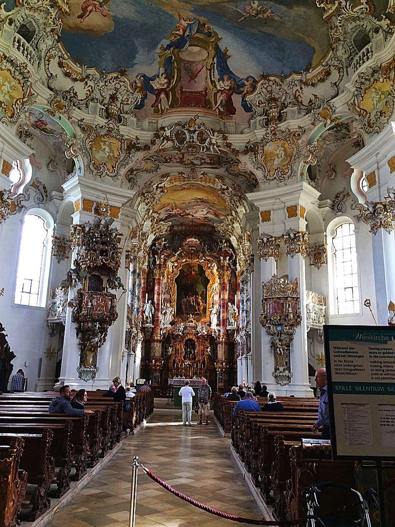 Wieskirche in Steingaden & Neuschwanstein Castle