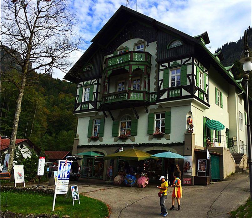 Shop at Neuschwanstein-Castle