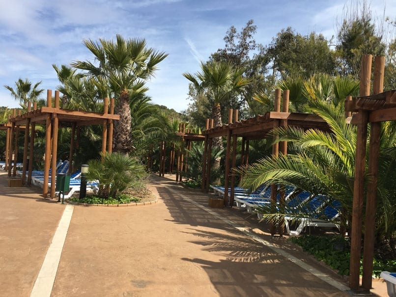 Campsite Torre de la Mar Pool area