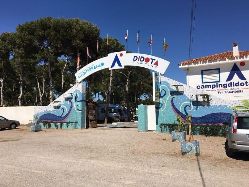 Didota campsite, Oropesa, Spain