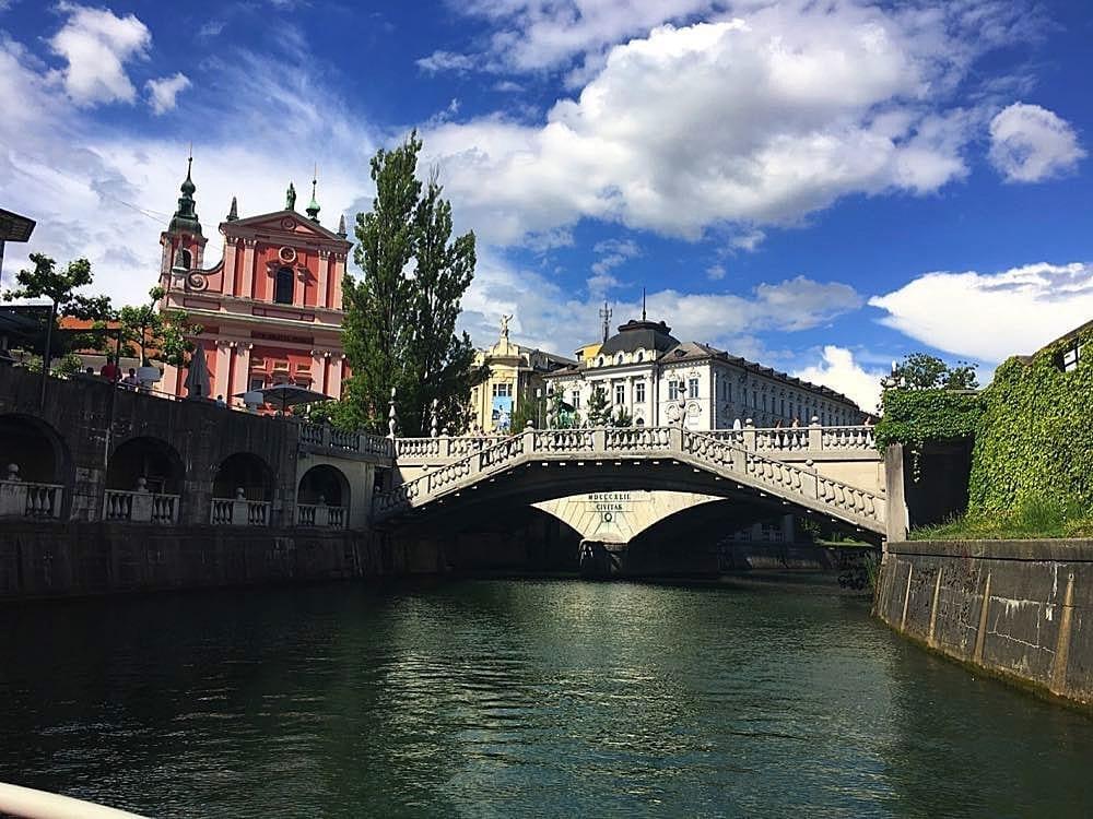 Ljubljana Slovenia Round About Europe In A Motorhome