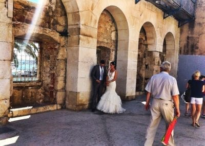 Wedding shoot in Split, Croatia