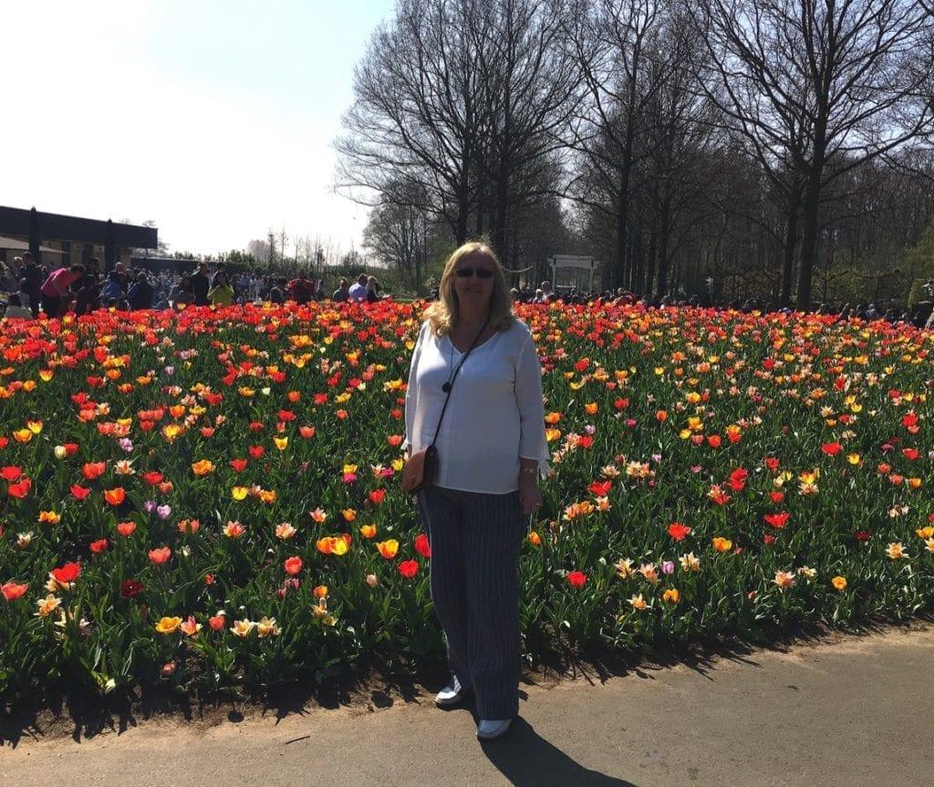 Keukenhoff flower beds 2017
