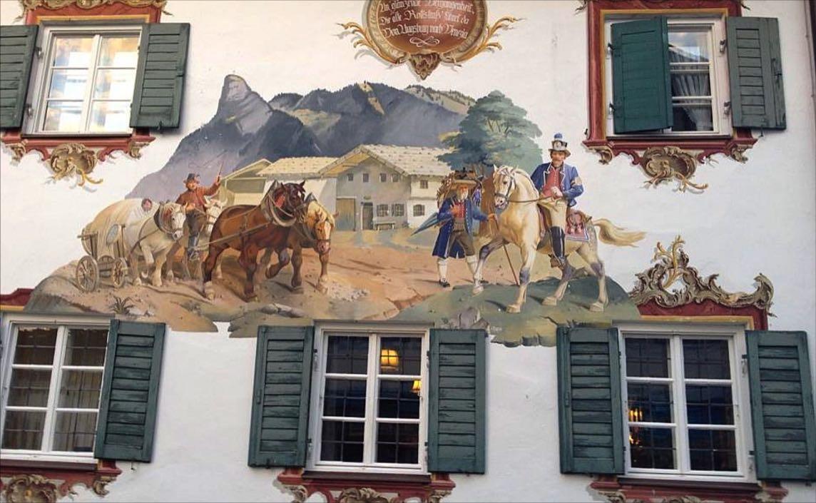 Oberammergau murial