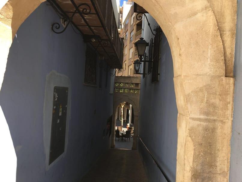 Arch inCalpe, Spain