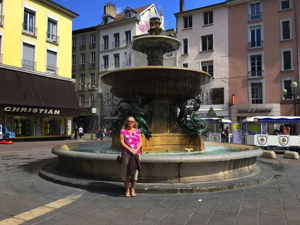 Grenette Square Fountain, Grenoble