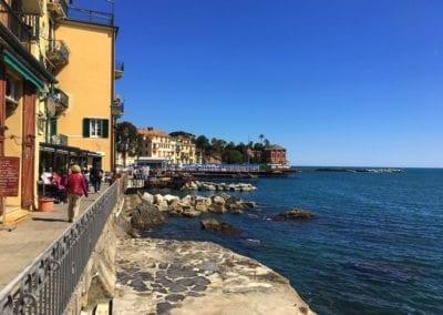 Seafront promenade, Rapallo