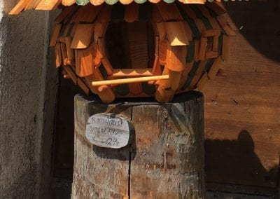 Triberg wooden bird house