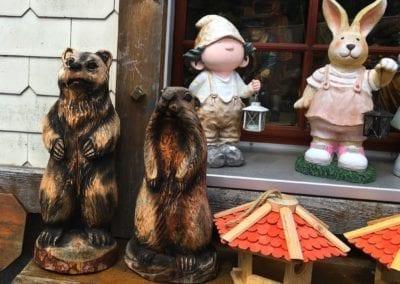 Triberg wooden souvenirs