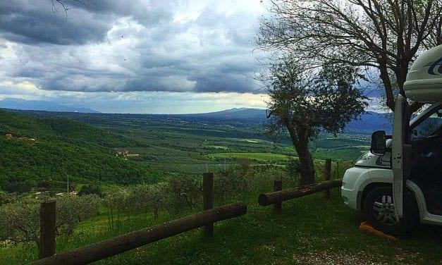 Tivoli Campsite, Italy