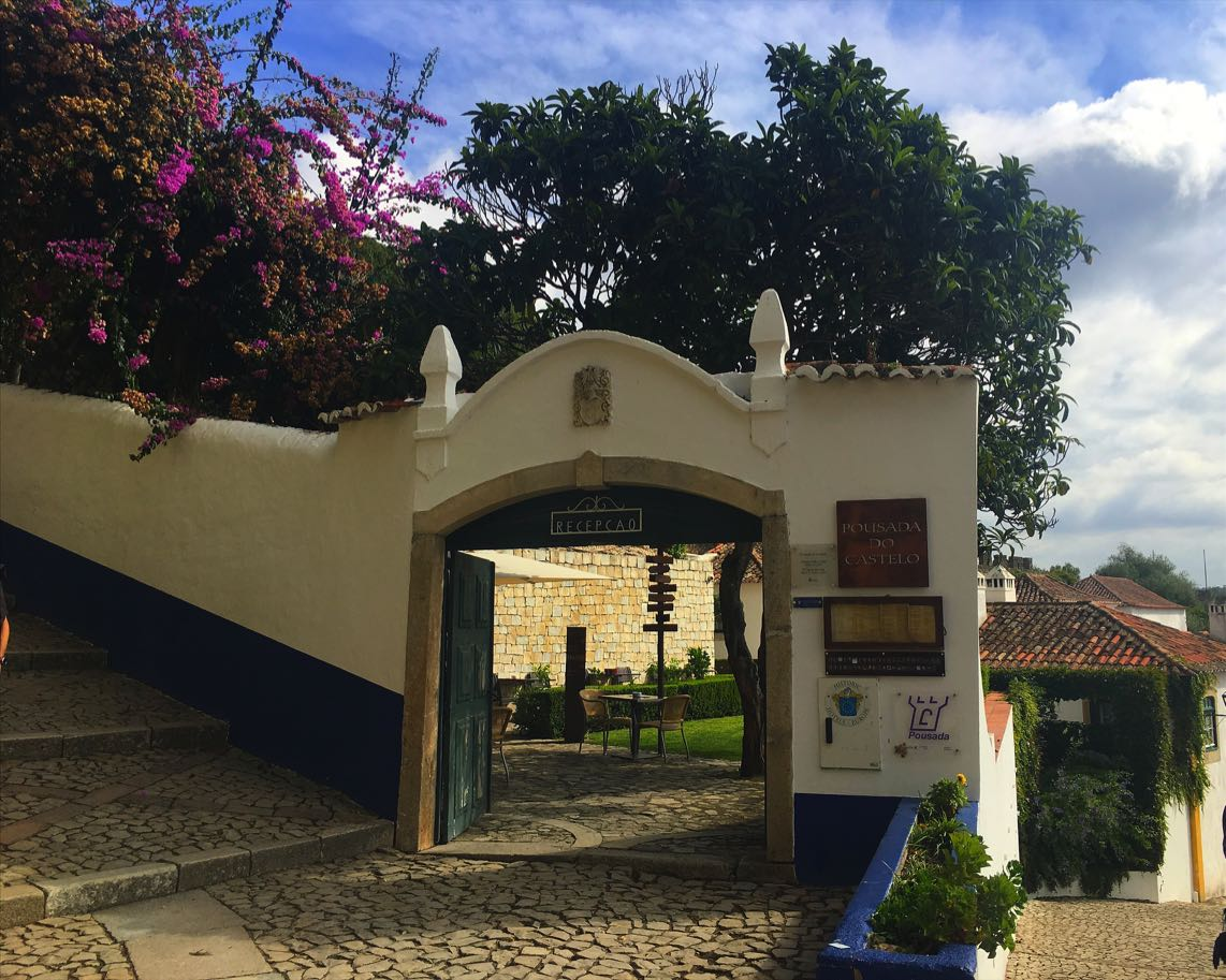 Obidos Castle Hotel Reception Entrance