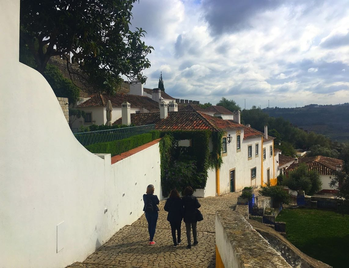 Obidos castle grounds