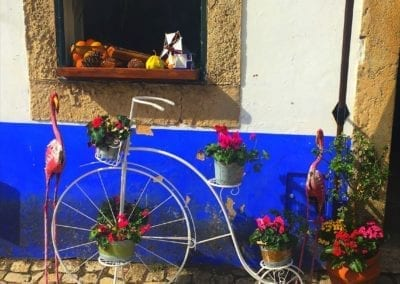 Display outside Obidos shop
