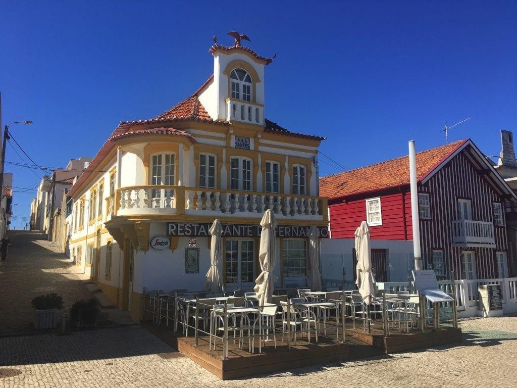 Restaurant Costa Nova, Portugal