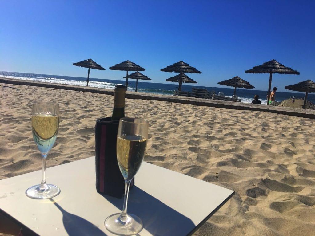 Wine Costa Nova Beach, Portugal