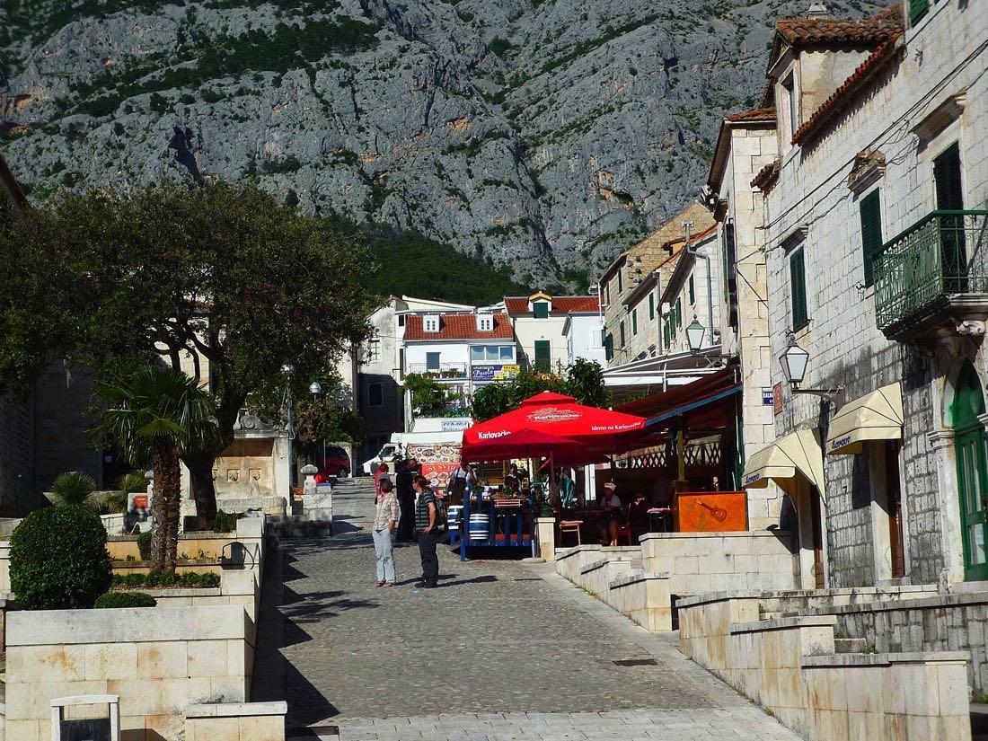Makarska-Croatia-street