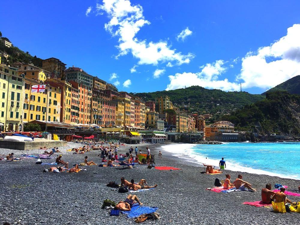 Camogli-Beach