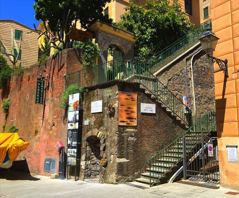 Camogli-steps