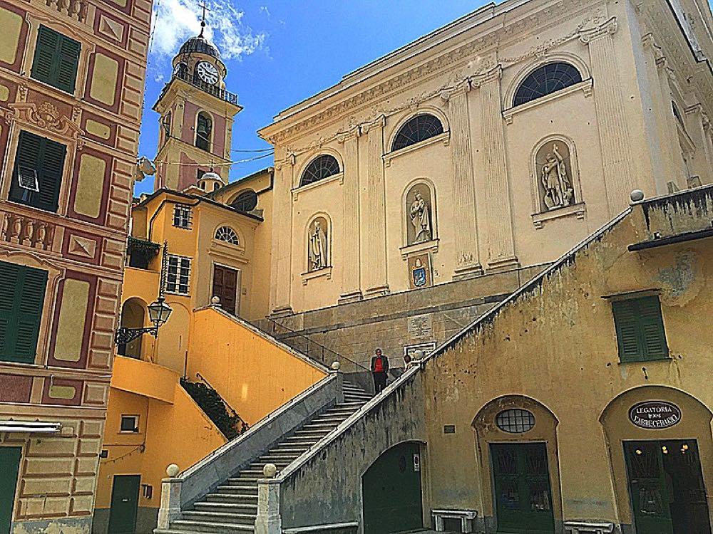 Camogli-church