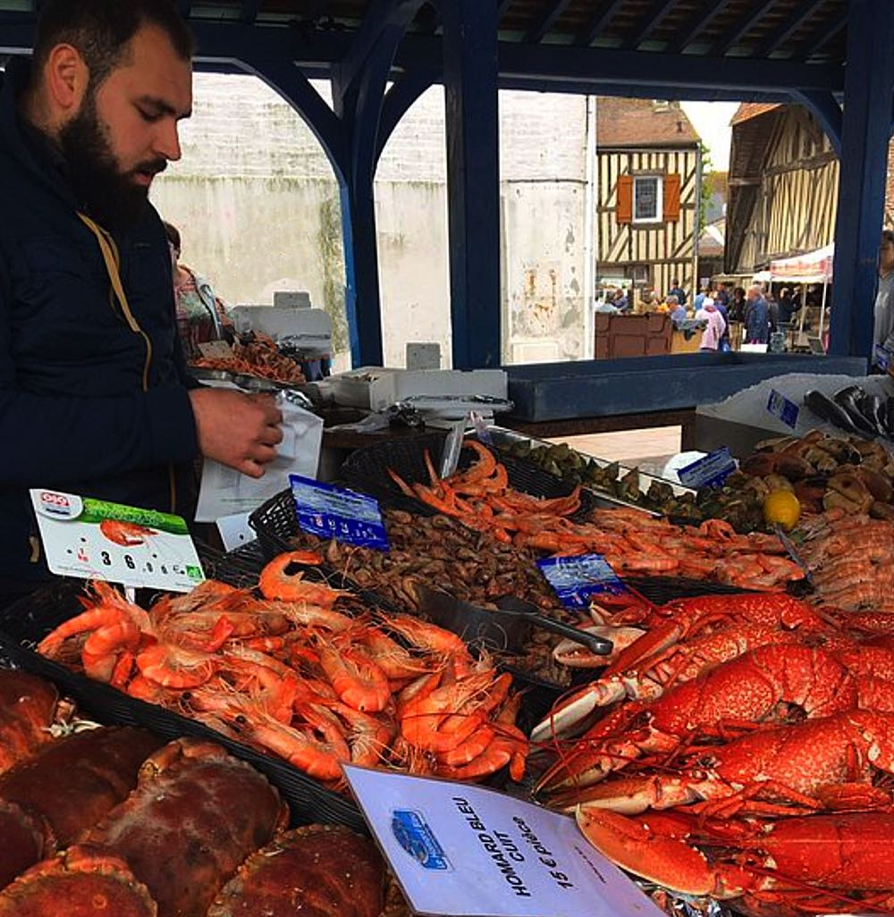 Fish-stall-Les-Halles-du-Marche