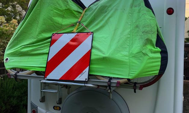 Bike cover for motorhome Review